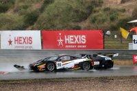 Aanrijding #90 Ferrari en #88 Lamborghini