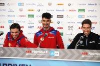 Jérôme D'Ambrosio, Pascal Wehrlein en Antonio Félix da Costa