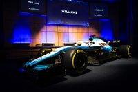 Williams FW41 in de nieuwe kleuren