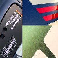 De nieuwe kleuren van Clubsport Racing...
