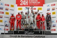 Algemeen Podium Hankook 24H Barcelona GT
