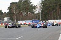 Start race 1 FIA Historic F1