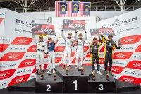 Podium Sepang race 1