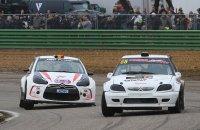Steve Otzer (Citroën Saxo) versus Davy Van Den Branden (Citroën DS3)