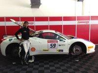 Naomi Schiff - Ferrari Challenge Asia Pacific