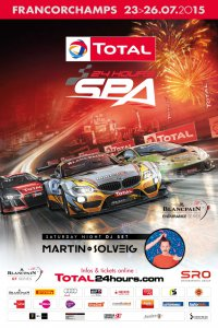Poster 24 Hours of Spa 2015