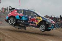Timmy Hansen in de fout - Peugeot T16 Supercar