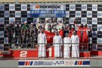 GT podium 24H Dubai 2019