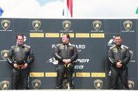 Podium Lamborghini Cup Paul Ricard race 1