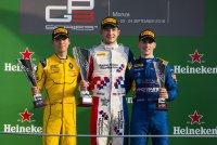 Een volledig Brits podium te Monza
