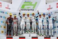 Podium Kwalificatierace 24H Nürburgring 2017