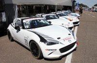 Geslaagd debuut voor de Mazda MX-5 Cup op Belgische bodem
