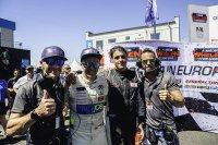 Bert en Stienes Longin, Nicolo Rocca en Anthony Kumpen