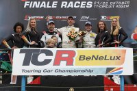 Podium Renault Clio Cup Benelux Assen 2017