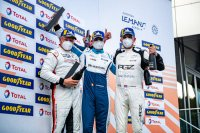 Podium Porsche Carrera Cup Benelux race 1 Red Bull Ring