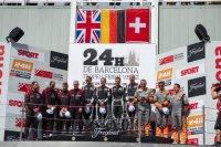 Podium 24H Barcelona 2016