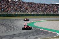 Charles Leclerc en Sebastian Vettel