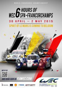 Poster WEC 6 Hours of Spa 2015