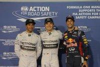 Hamilton - Rosberg - Ricciardo