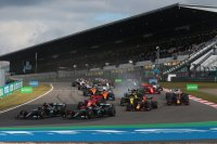 Start 2020 F1 GP van de Eifel