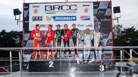 Podium Belgian Masters 2014 - BRCC Cup