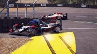 Crash van Brendon Hartley - Toyota Gazoo Racing #8