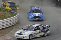 Luc Maris (Volvo S40) - Steve Volders  (Ford Fiesta) - Kristof Bex (Volvo S40)