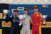 Podium race 1 Barcelona