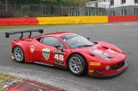 Testday Spa - Curbstone AF Corse Ferrari