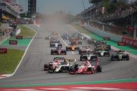Start allereerste FIA F3 ooit