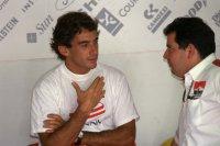 Ayrton Senna & Giorgio Ascanelli
