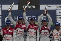 Audi wins in Silverstone