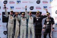 Podium GT-divisie race 1