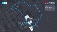 Nieuwe lay-our Rome E-Prix