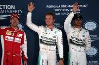 Vettel - Rosberg - Hamilton