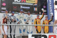 Podium Qualifying Race Zolder