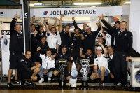BMW Team RBM na de zege van Joel Eriksson in Misano