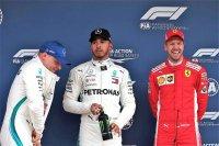 Top drie kwalificatie GP Spanje