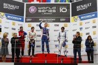 Sergey Sirotkin wint in Moskou