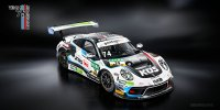 911 GT3 R van Küs Team Bernhard