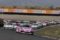 Start race 1 Porsche Carrera cup Zandvoort