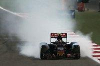 Een slecht weekend voor Toro Rosso, dat beide wagens zag uitvallen