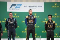 Podium F2 Hoofdrace Silverstone