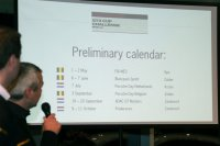 Steven Stichelbout presenteert voorlopige kalender PGCCB 2015