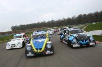Video- en fotoshoot voor aanvang van de eerste race