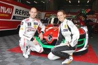 Wolfgang Reip en Sarah Bovy