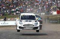 Sebastian Eriksson - Ford Fiesta Supercar Olbergs MSE