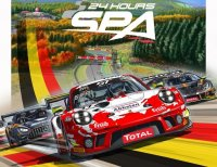 Afbeelding op affiche Total 24 Hours of Spa 2020