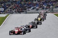 Start race 2 Red Bull Ring