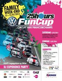 Affiche 25H VW Fun Cup 2015